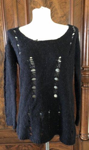 Velvet by Graham & Spencer Oversized Sweater dark grey-anthracite