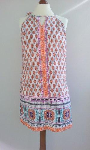 Grain de Malice Kleid in 42 (36/38), Weiß-Bunt, Ethno-Muster