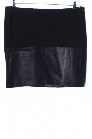 grain de malice Kunstlederrock schwarz Casual-Look