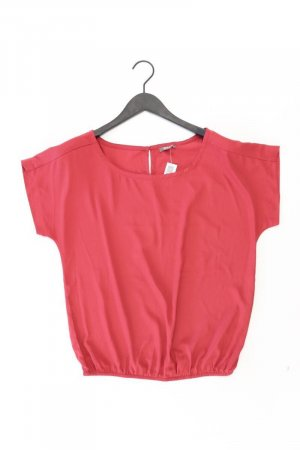 Grain de Malice Kurzarmbluse Größe 40 rot aus Polyester