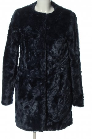 grain de malice Pelt Coat blue casual look