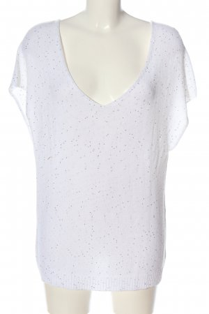 Gran Sasso Short Sleeve Sweater white casual look