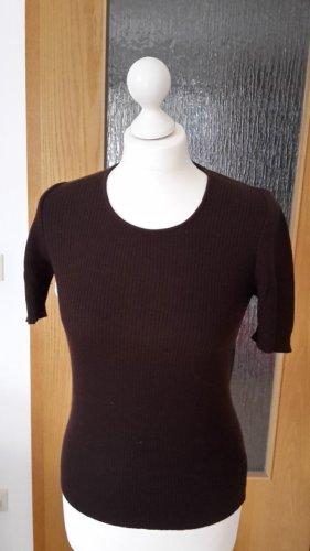 GRAN SASSO Pullover braun Wolle Gr. 36