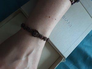 keine Bracelet doré-bordeau