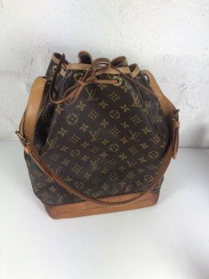 Louis Vuitton Buideltas bruin Leer