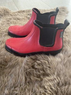 Grand Step Gumowe buty czerwony