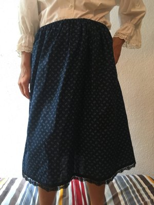 Vintage Traditional Skirt blue-neon blue