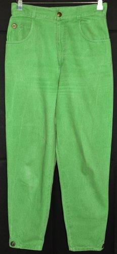 zaffiri Hoge taille jeans weidegroen Katoen