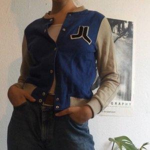 Wesc College Jacket oatmeal-blue