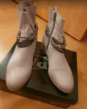 #grau-beige Stiefeletten #Stiefeletten #SPM SHOES & BOOTS