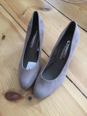 Grau-beige Tamaris Schuhe