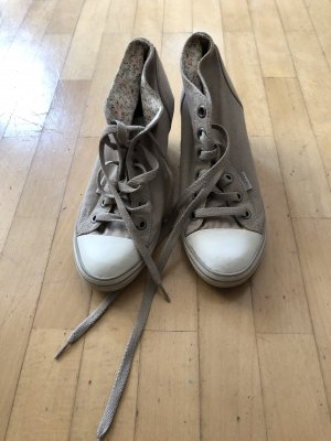 Esprit Wedge Sneaker grey brown