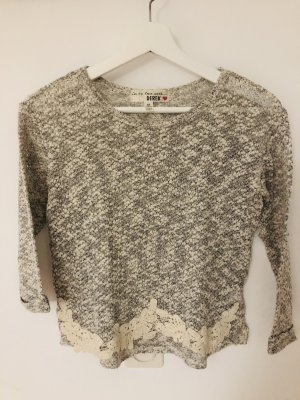 andere Marke Coarse Knitted Sweater multicolored