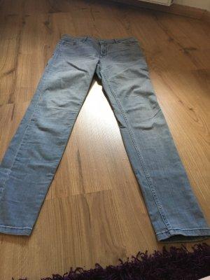 Review Pantalone a vita alta grigio-grigio ardesia