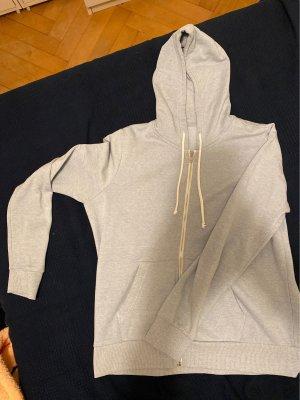 Grau-Blaue Stoff Jacke