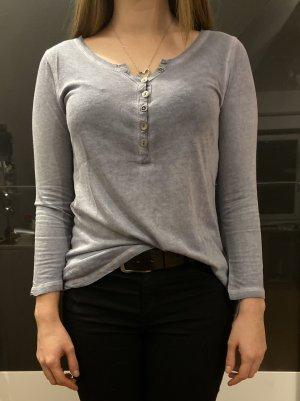 grau blaues Sweatshirt von Review Gr. XS
