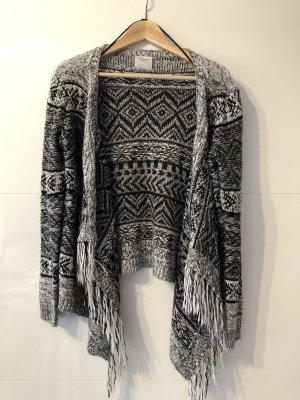 Vero Moda Crochet Cardigan black-light grey