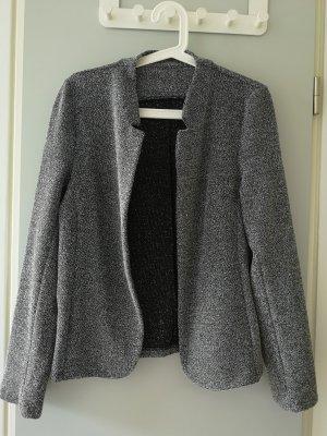 Knitted Blazer grey-anthracite