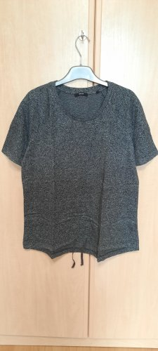 Grau gemustertes Shirt von OPUS