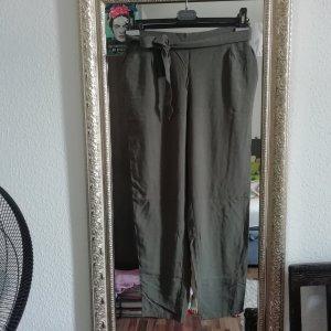 Grau/grüne Stoffhose