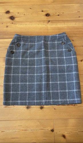 kew 159 Gonna di lana grigio-grigio chiaro
