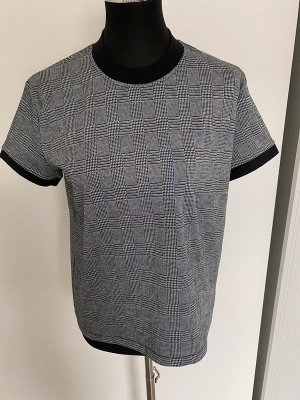 Grau kariertes Shirt von Up Fashion, Gr. M
