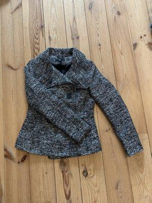 Grau melierter Mantel von H&M Gr.34