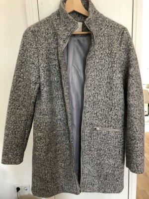 Grau melierter Mantel von JDY Only