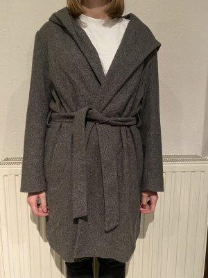 Zara Hooded Coat grey