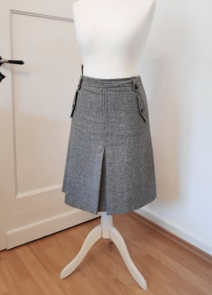 Esprit Tweed Skirt dark grey-anthracite