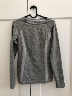 Primark T-shirt de sport gris clair-gris