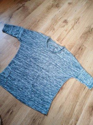 Grau meliertes Shirt Vero Moda