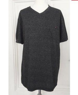 Grau meliertes Shirt von Tommy Hilfiger