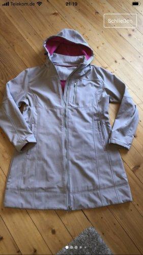 SYLT Manteau de pluie gris clair-rose