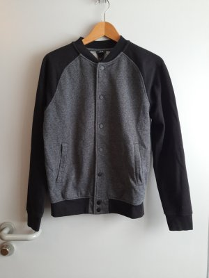 H&M College Jacket black-grey