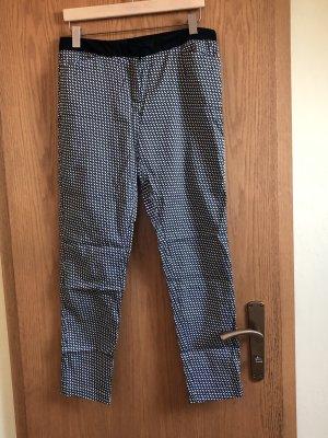 Pantalón de tubo negro-gris
