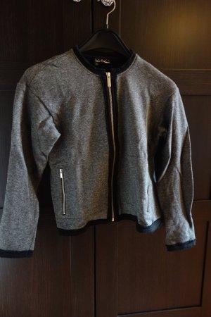 The Kooples Sweat Blazer black cotton