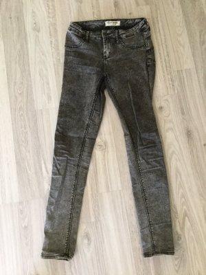 Grau schwarze Tally Weijl Jeans