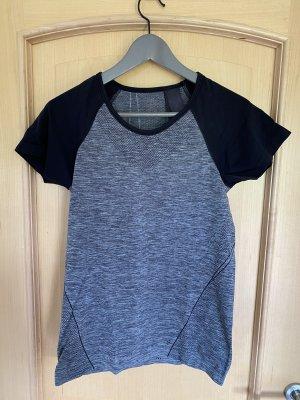 Grau-schwarzes Sportshirt von H&M