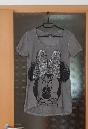 Street One T-shirt nero-grigio
