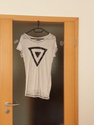 Sublevel T-shirt czarny-jasnoszary