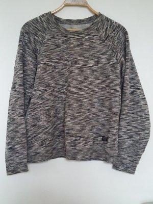Grau weiß gemustertes Sweatshirt von Volcom