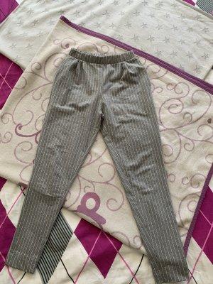 Grau weiße stoffhose