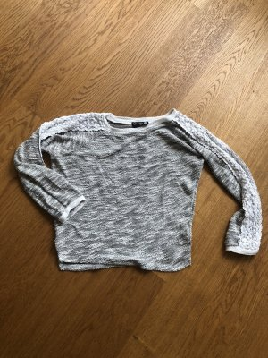 Danity Crewneck Sweater white-light grey