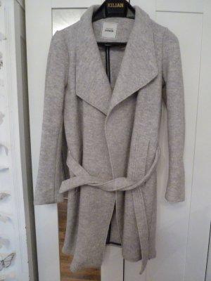 Grau Woll Mantel Gr. S Pimkie