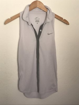 Graublaues Nike Top Dri-Fit