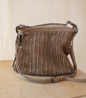 graubraune Burberry Tasche