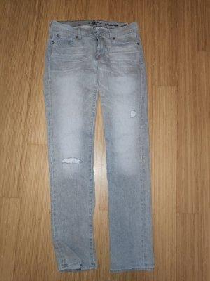 7 For All Mankind Jeans slim fit grigio chiaro