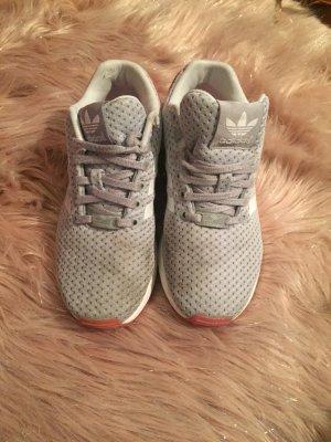Adidas Sneakers met veters roze-zilver