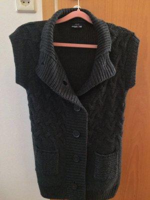 Colours of the World Cardigan dark grey cotton
